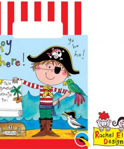 Rachel Ellen Pirate Paper Party Bags