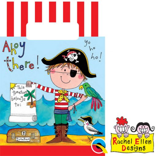 Rachel Ellen Pirate Paper Party Bags