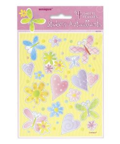 Cute Birthday Sticker Sheets
