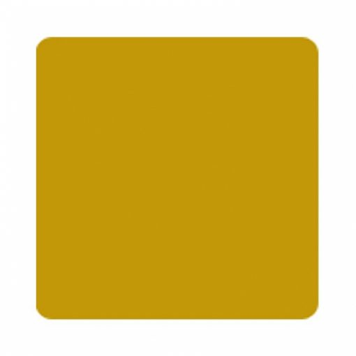 Gold Plastic Oblong Tablecover