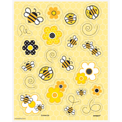 Busy Bees Sticker Sheets