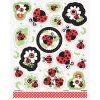 Lively Ladybugs Sticker Sheets