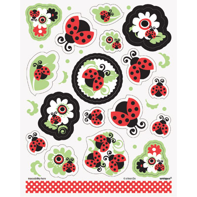 Lively Ladybugs Sticker Sheets