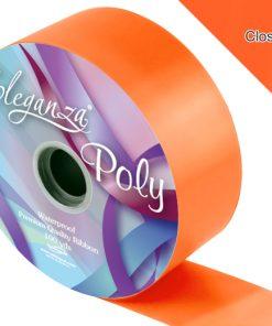 Eleganza 50mm Poly Ribbon Orange
