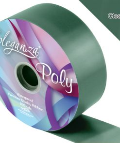 Eleganza 50mm Poly Ribbon Green