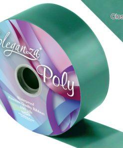 Eleganza 50mm Poly Ribbon Emerald Green