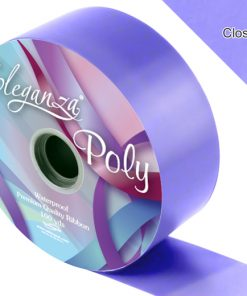 Eleganza 50mm Poly Ribbon Lavender