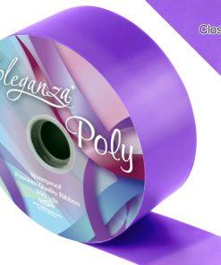 Eleganza 50mm Poly Ribbon Violet