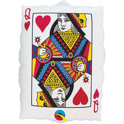 Queen of Hearts/Ace of Spades Foil