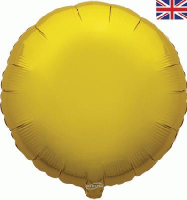 "18"" Gold Round Foil"