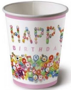Sweet Birthday Cups