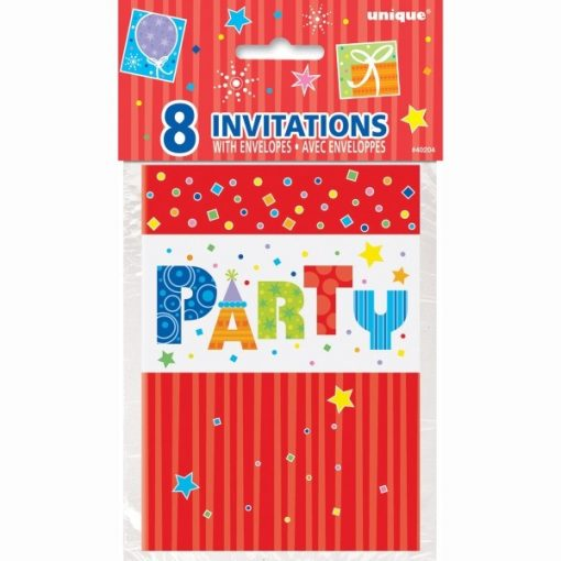 Party Style Invitations