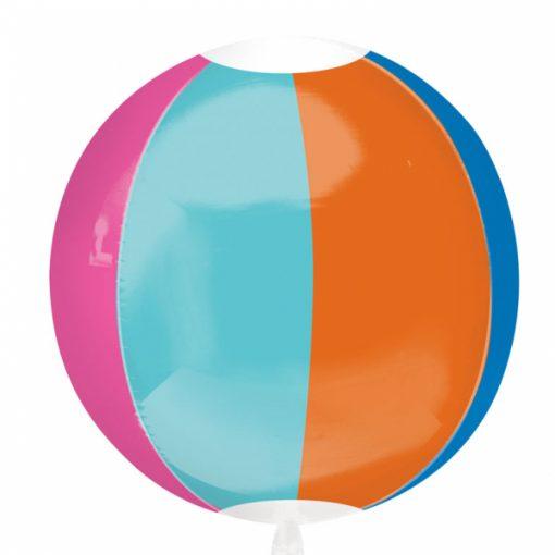"15"" Beach Ball Orbz Foil"
