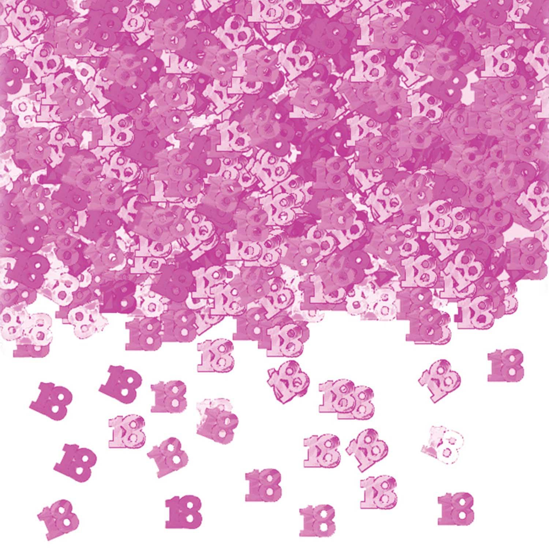 Pink Shimmer 18 Metallic Confetti