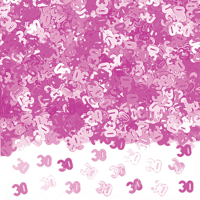 Pink Shimmer 30 Metallic Confetti