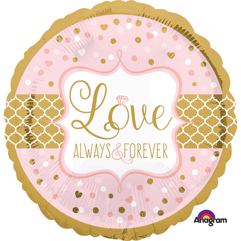 """18"""" Always & Forever Foil"""