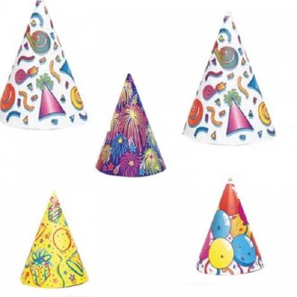 Assorted Party Hats