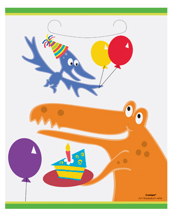 Dino Party Bags