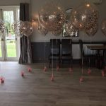 16 inch and Giant Balloons Rose Gold
