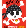 Pirate Fun invitations