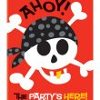 Pirate Fun invitations
