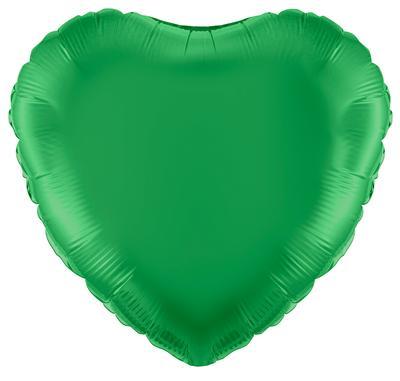 """18"""" Green Heart Foil"""