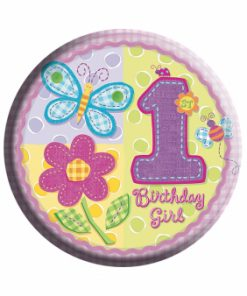Age 1 Girl Badge