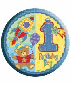 Age 1 Boy Badge