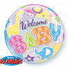 """22"""" Welcome Baby Animals Patterns Single Bubble"""