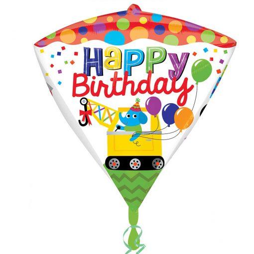 Happy Birthday Construction Diamondz