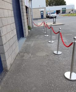 VIP Poles and Rope - Single Entrance