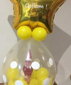 Elf in a Balloon Personalised