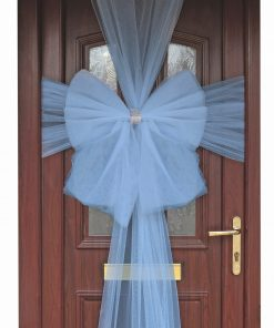 Eleganza Light Blue Door Bow