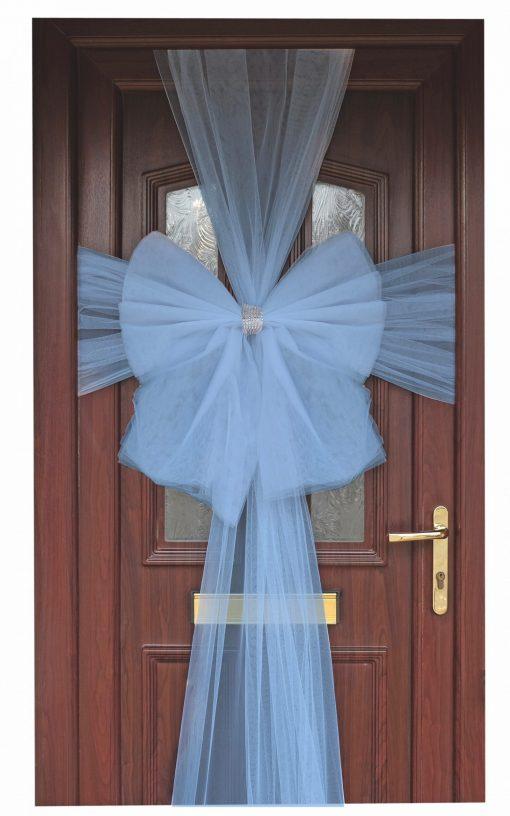 Eleganza Light Blue Door Bow
