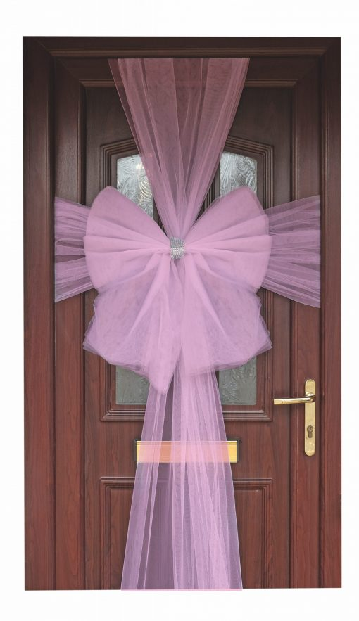 Eleganza Light Pink Door Bow