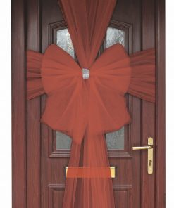 Eleganza Red Door Bow