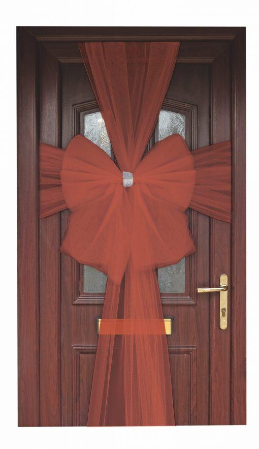 Eleganza Red Door Bow