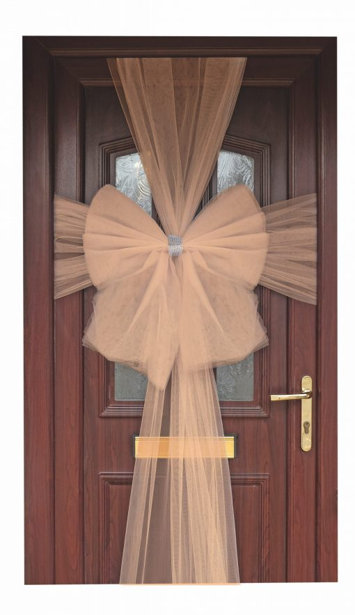 Eleganza Rose Gold Door Bow