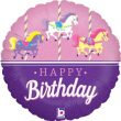 "18"" Carousel Birthday Holographic Foil"