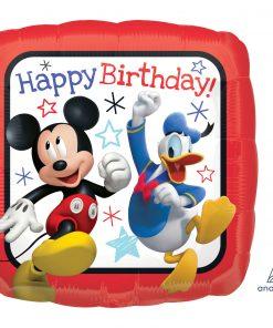 Mickey Roadster Happy Birthday Foil
