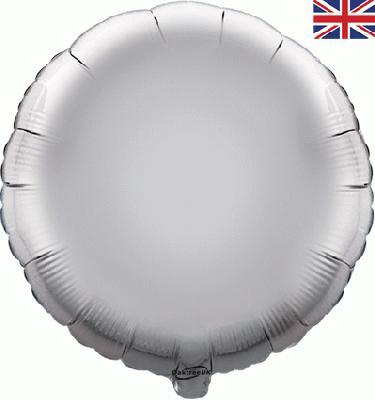 "18"" Silver Round Foil"