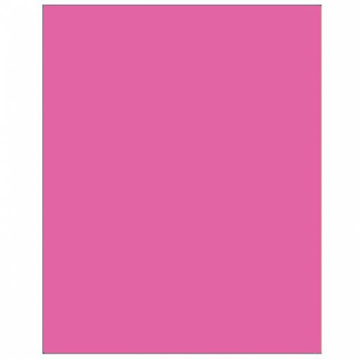 Plastic Rectangular Tablecover Bright Pink