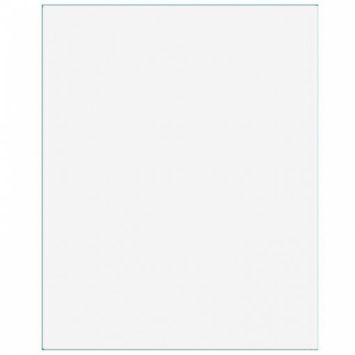 Plastic Rectangular Tablecover Frosty White