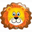 "14"" Air-fill Shape Lovable Lion Foil"