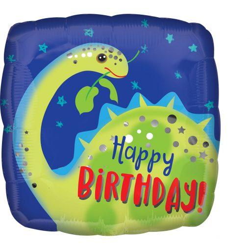 "18"" Hppy Birthday Brontosaurus Foil"