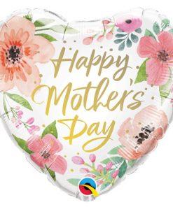 "18"" Mother's Day Pink Floral Foil"