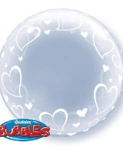 Deco Bubble Stylish Hearts