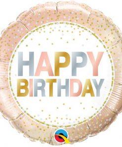Birthday Metallic Dots