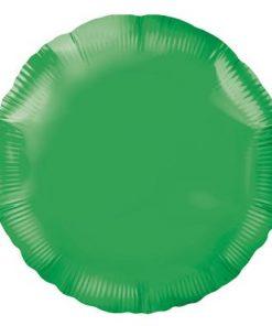 Green Round Foil