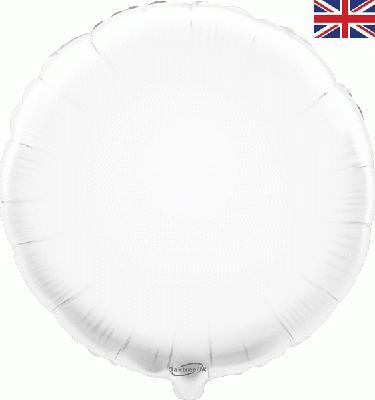White Round Foil